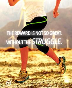 Blog Pic of no reward without struggle