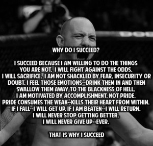 pic of why I succeed quote